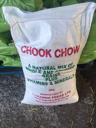 25Kg Bag Chook Chow