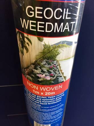 Geocil Weedmat 1m x 20m Roll