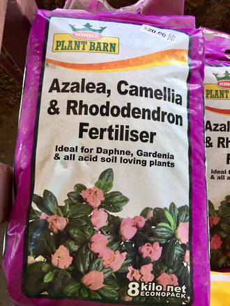 Azalea, Camellia and Rhododendron Fertiliser