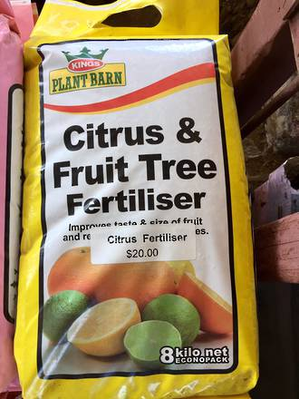 Citrus and Tree Fertiliser