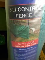 Silt Control Fence .86m x 50m